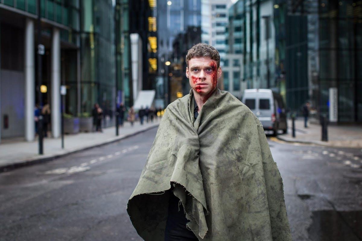 Richard Madden in the season one finale of Bodyguard