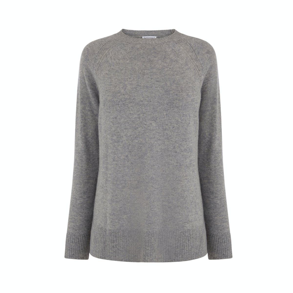 0e38ee1d2bd Opting for a classic is never a bad idea. You'll wear a grey, cashmere crew  neck knit so many times that you'll lose count. Note: even better if it's  half ...