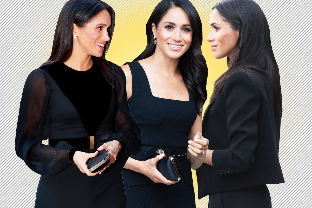 Why Meghan Markle wears black