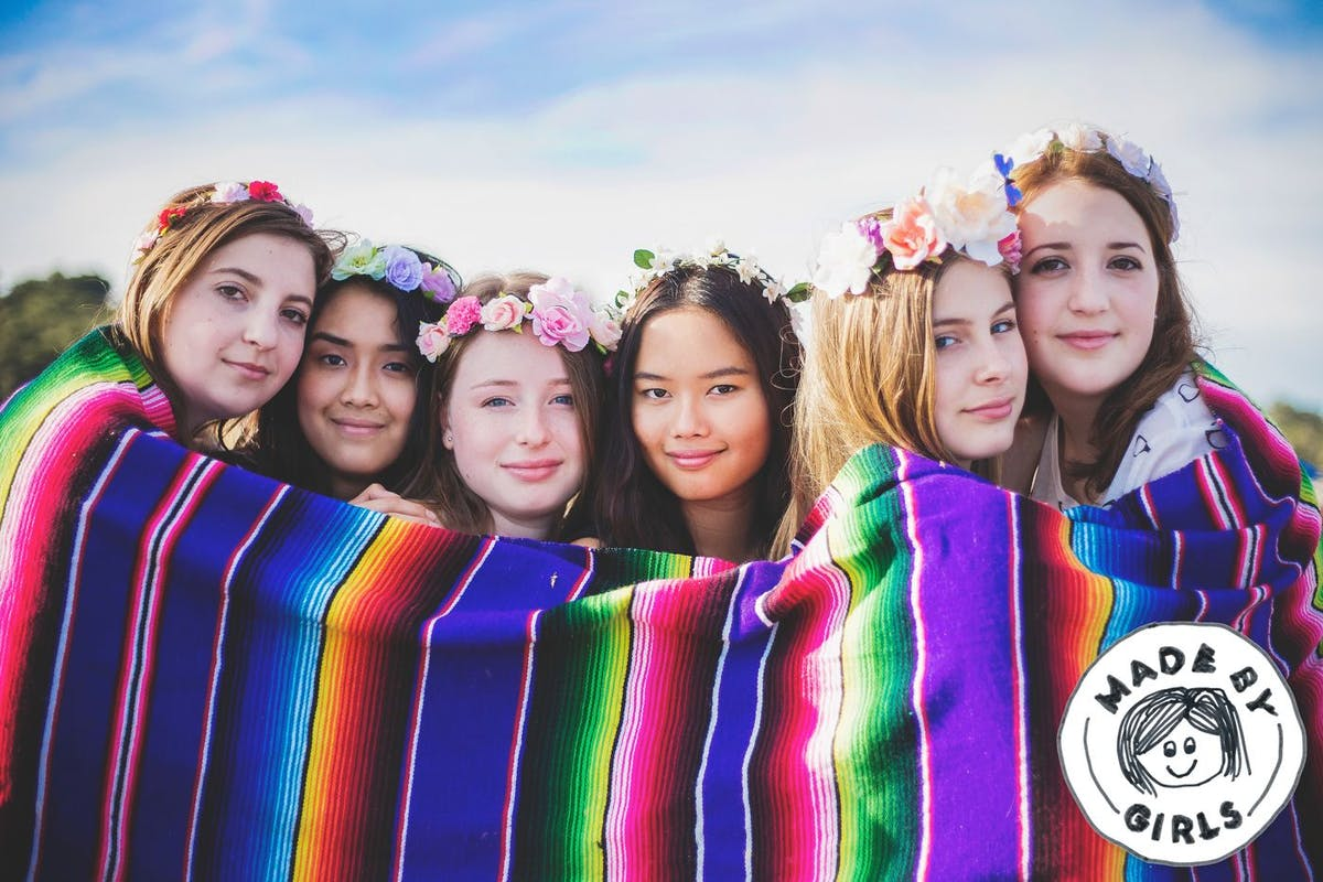 Made by girls - a poem about International Day of the Girl