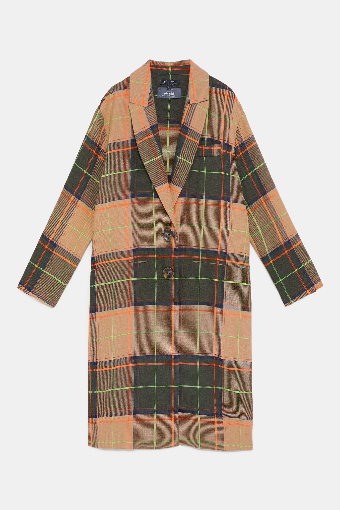 Checkered Coat This Winter