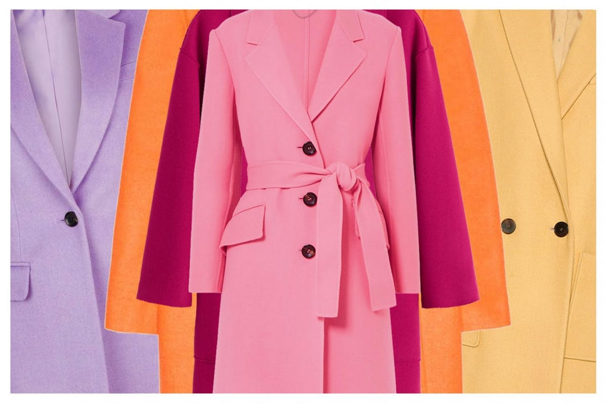 Colourful coats