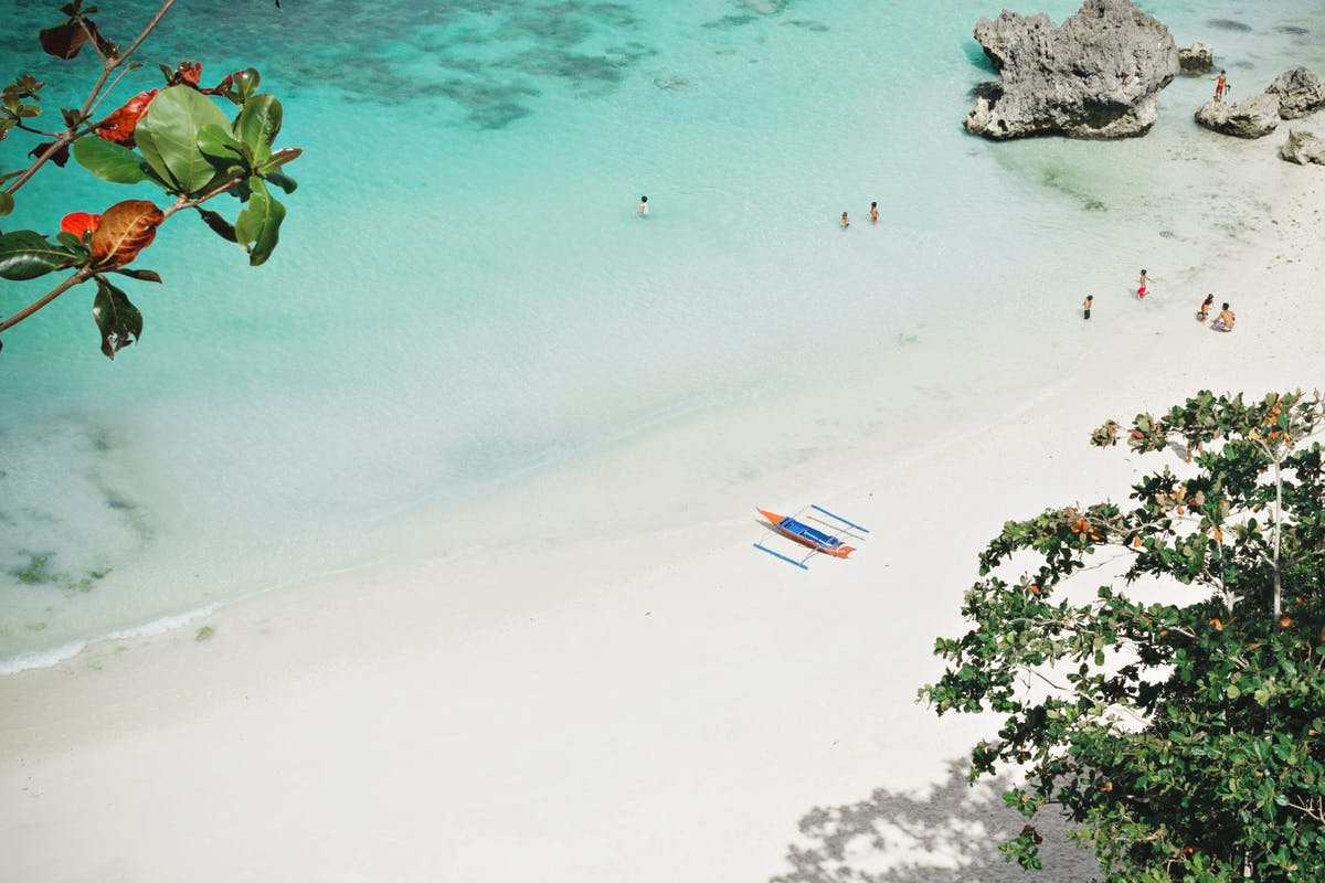 Solo travel: Boracay, the Philippines. Image: Stylist