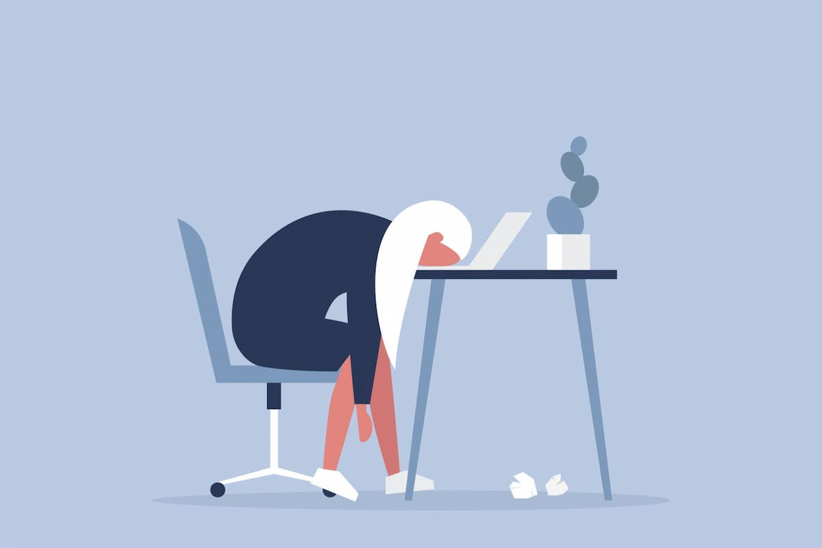 Women are feeling the strain of stress in the work place.