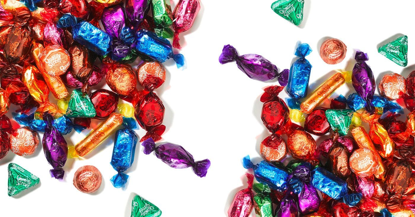A definitive ranking of Quality Street's chocolates, from gross to delicious