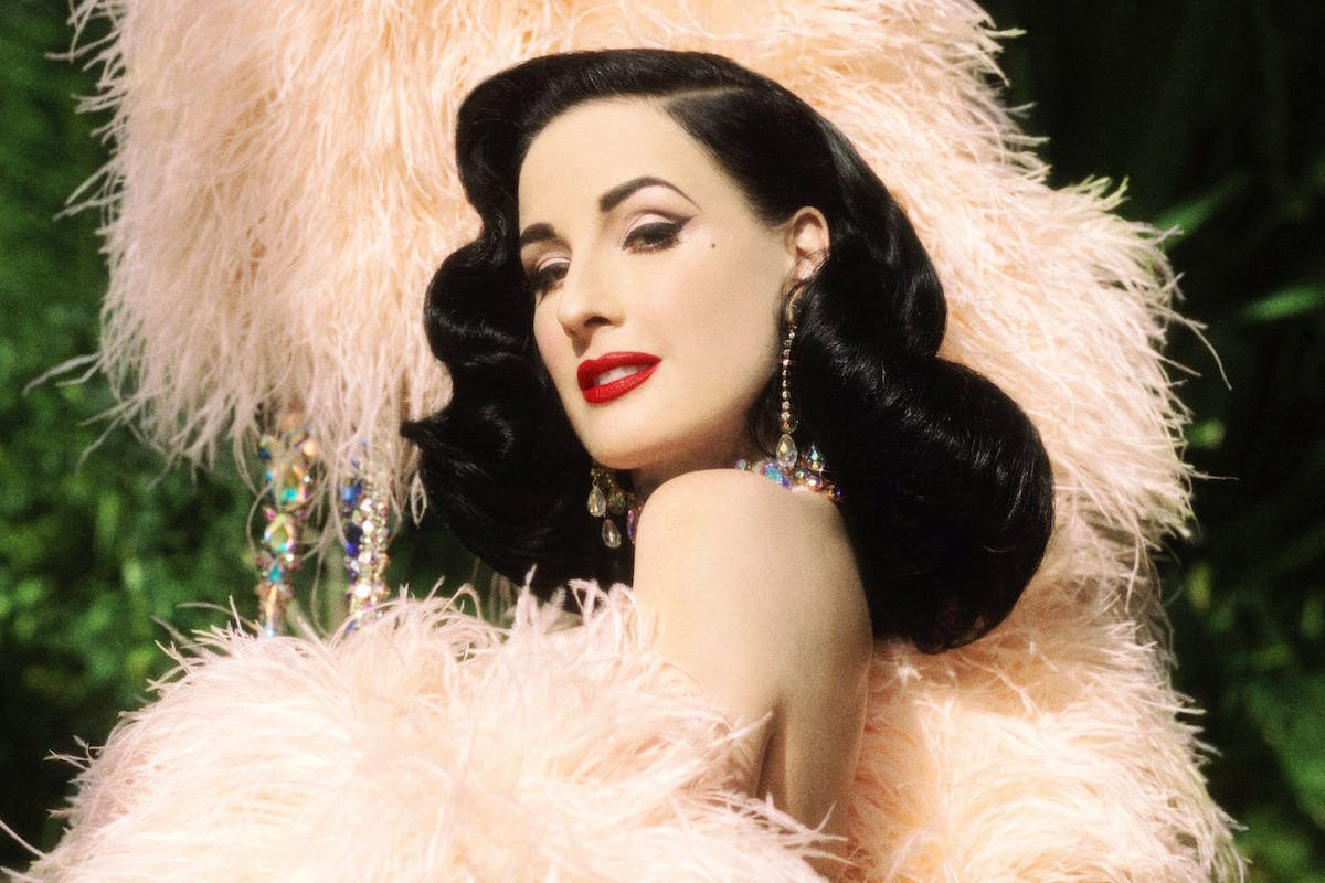 Dita Von Teese, Absolut Elyx, The Box Soho, Burlesque, Stylist, Interview