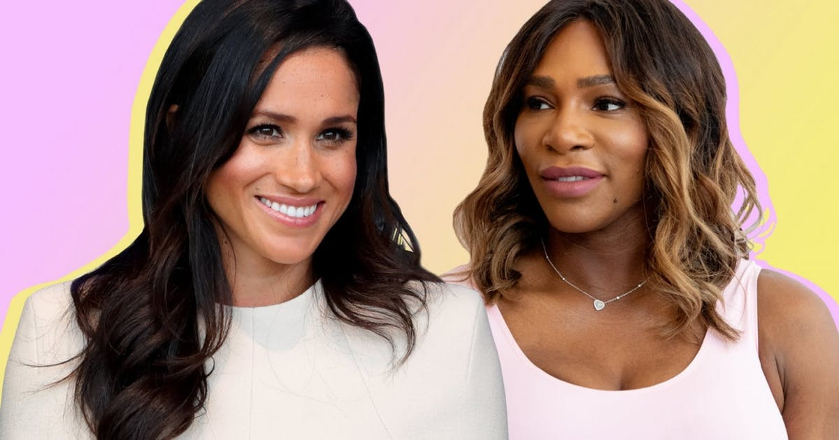 Serena Williams isn't here to field disrespectful Meghan Markle questions
