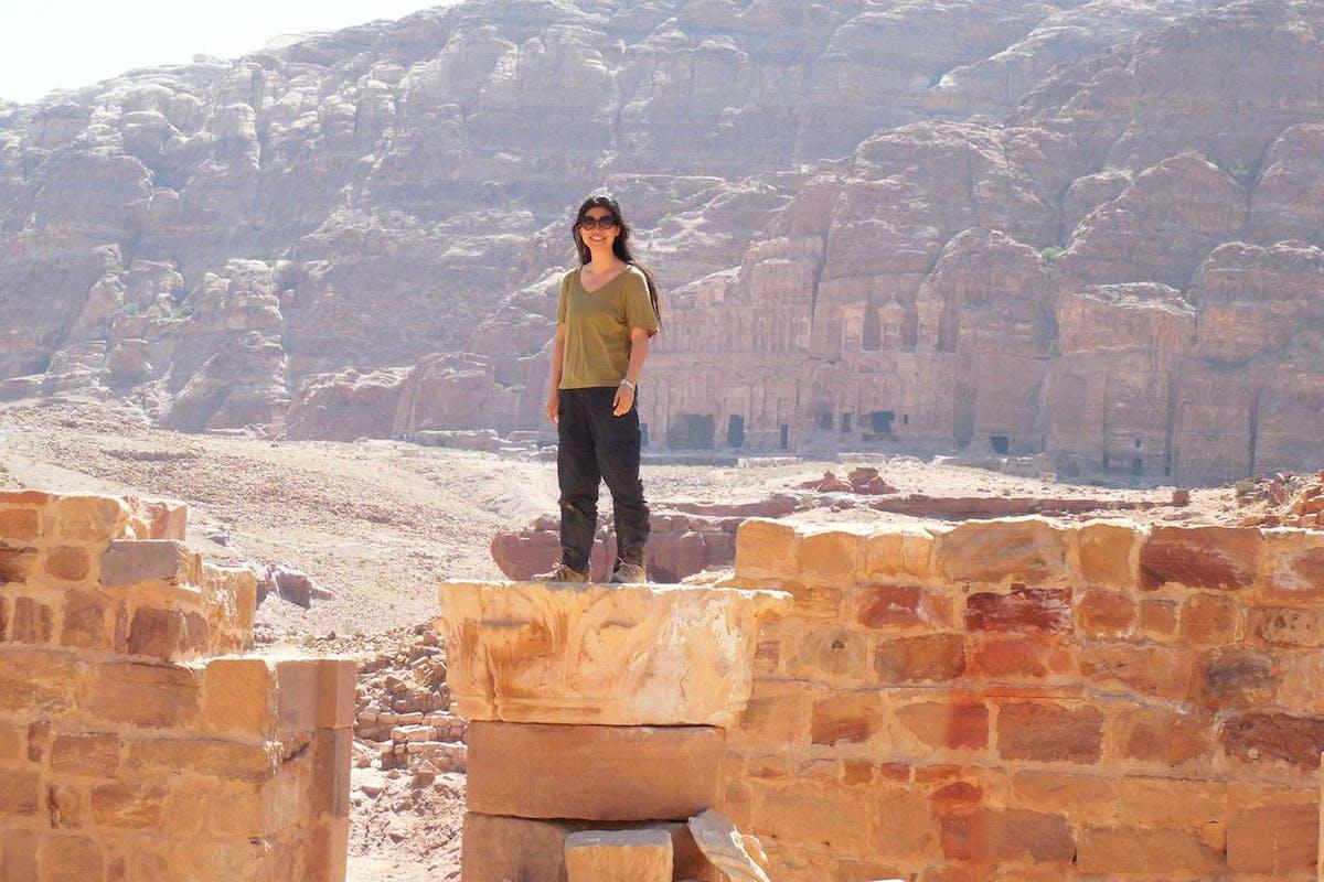 Winnie M Li in Jordan