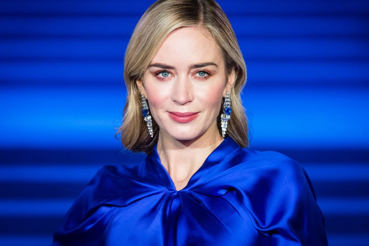 Emily Blunt at Mary Poppins Returns' European premiere on the 12 December