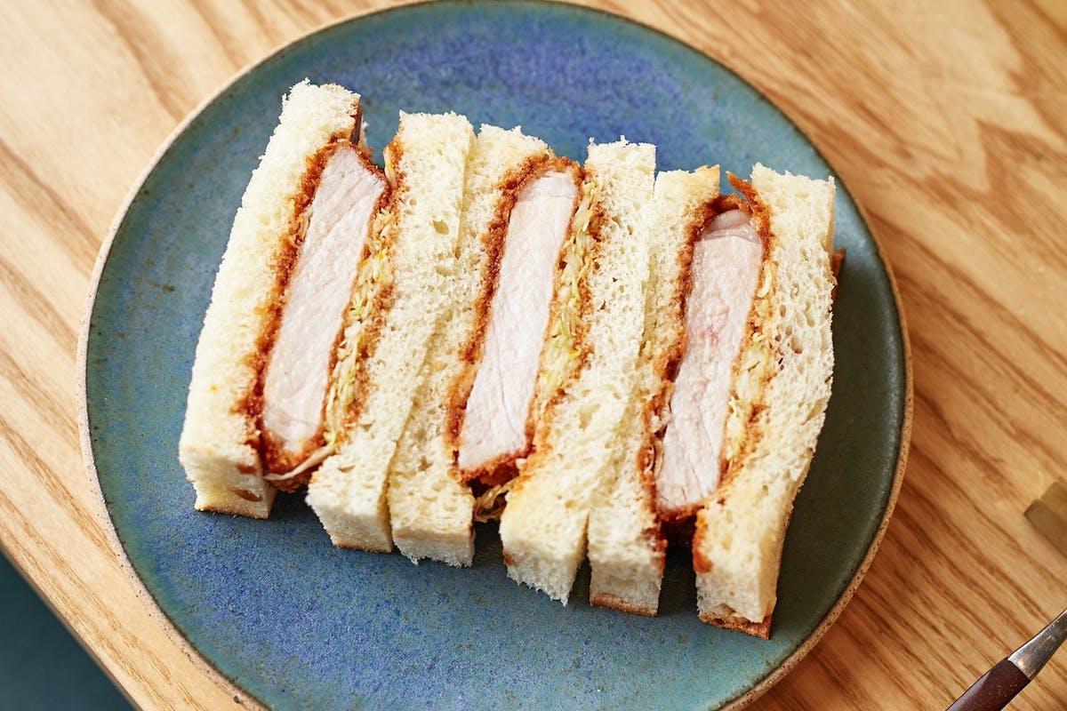 A katsu sandu sandwich
