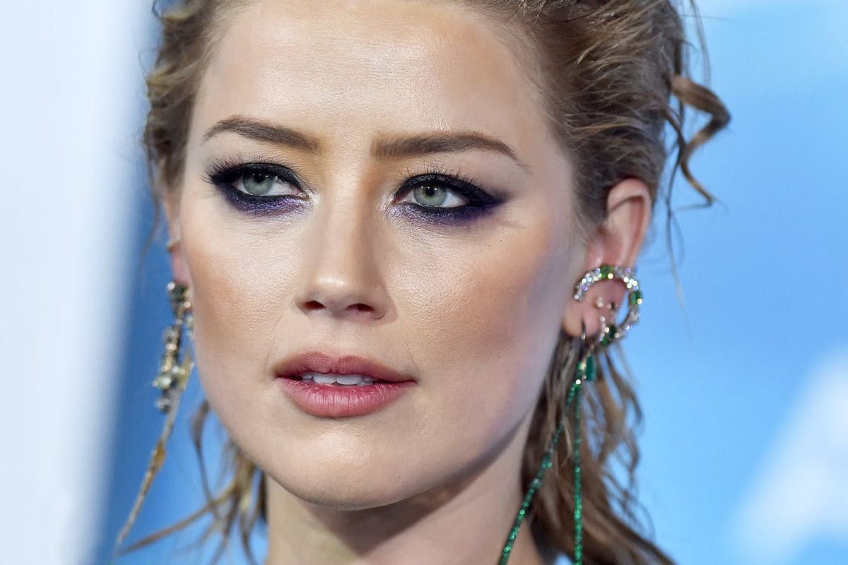 Amber Heard at the Aquaman premiere
