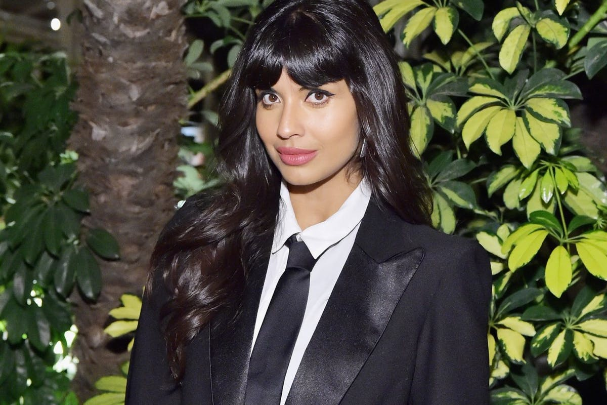 LOS ANGELES, CA - OCTOBER 15: Jameela Jamil attends ELLE's 25th Annual Women In Hollywood Celebration presented by L'Oreal Paris, Hearts On Fire and CALVIN KLEIN at Four Seasons Hotel Los Angeles at Beverly Hills on October 15, 2018 in Los Angeles, California. (Photo by Stefanie Keenan/Getty Images for ELLE Magazine)