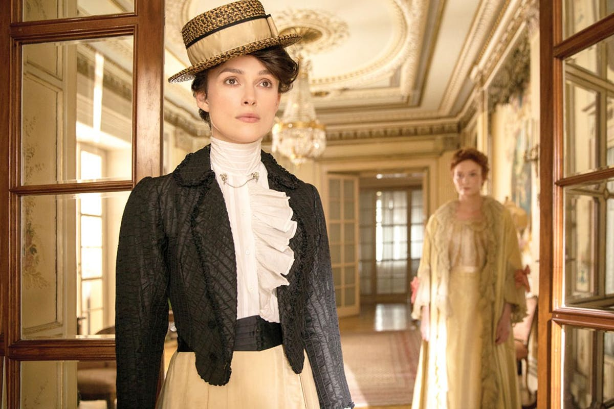 Keira Knightley in 2019 film Colette