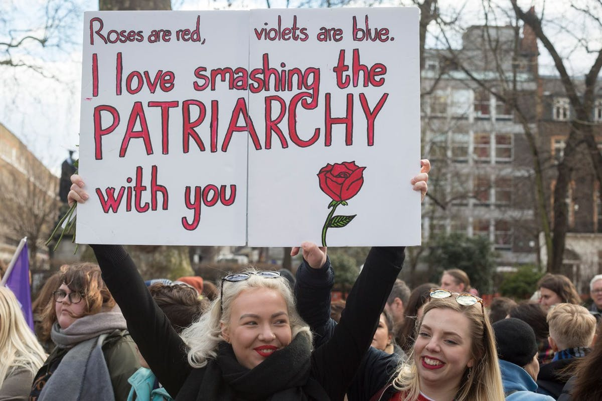 Bread and Roses Rally | The Women's March London