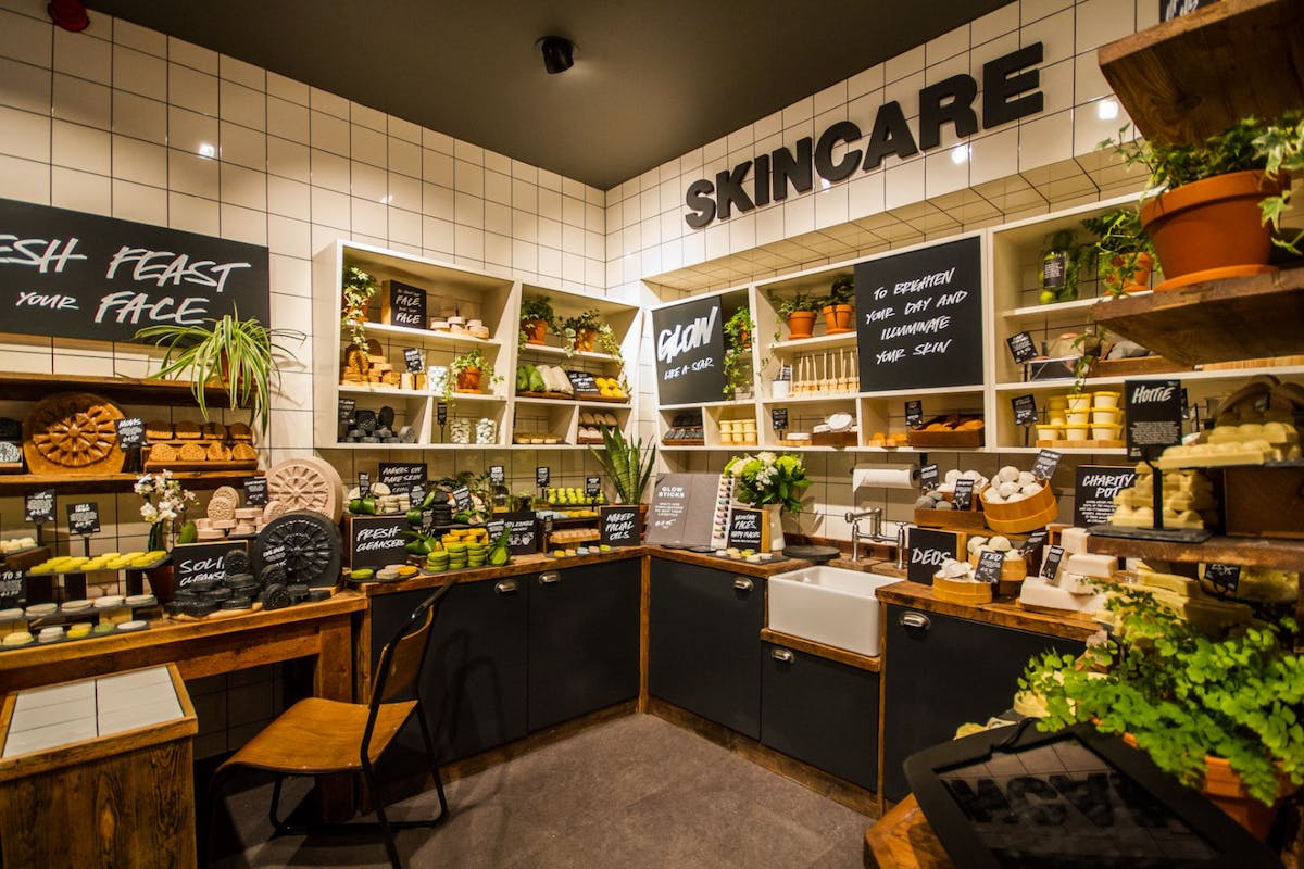 Lush's new skincare collection is entirely packaging free
