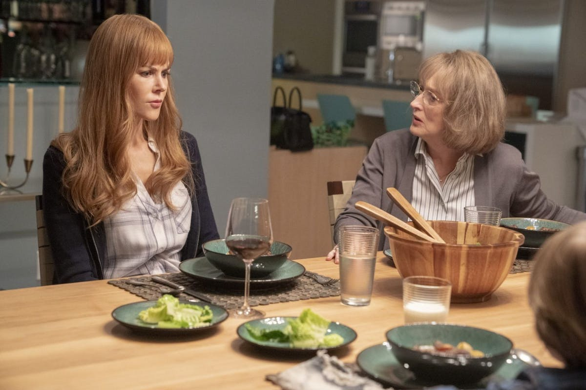 Nicole Kidman and Meryl Streep in Big Little Lies 2