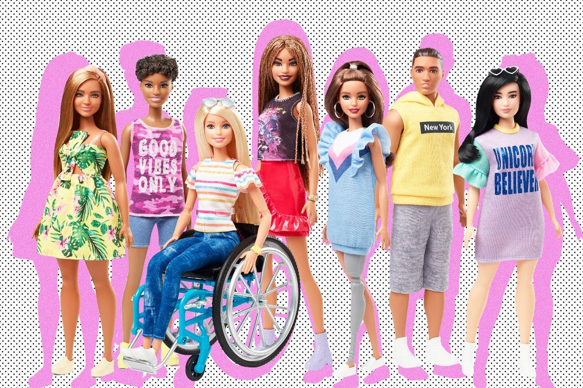 e19cb9cd29 The new Barbie collection features a doll in a wheelchair - Stylist ...