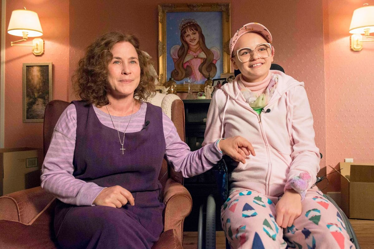 Patricia Arquette and Joey King in The Act. Image: Hulu