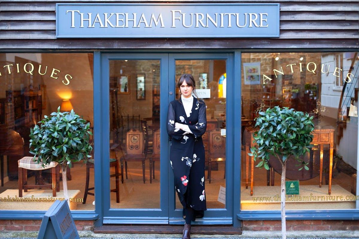 Harriet Chavasse, 31, Retail Manager, Thakeham Furniture, Petworth, West Sussex