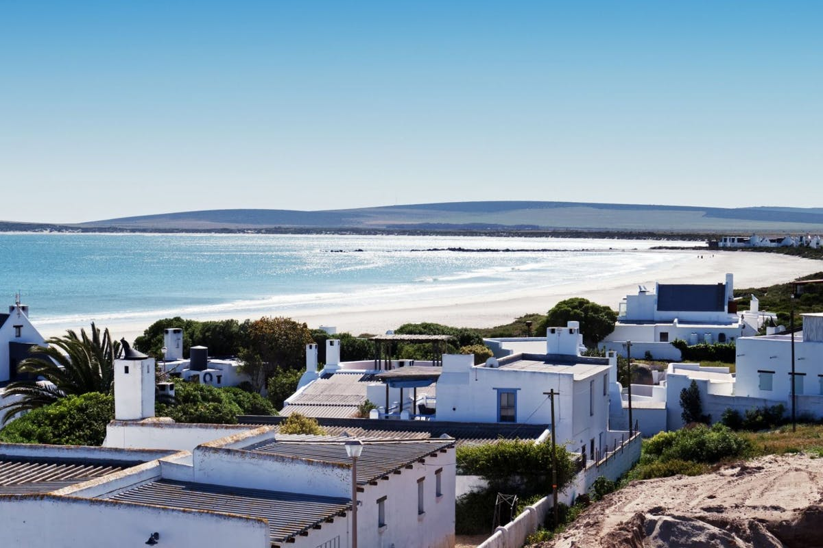 Paternoster is a fishing village located on the West Coast of South Africa. bay