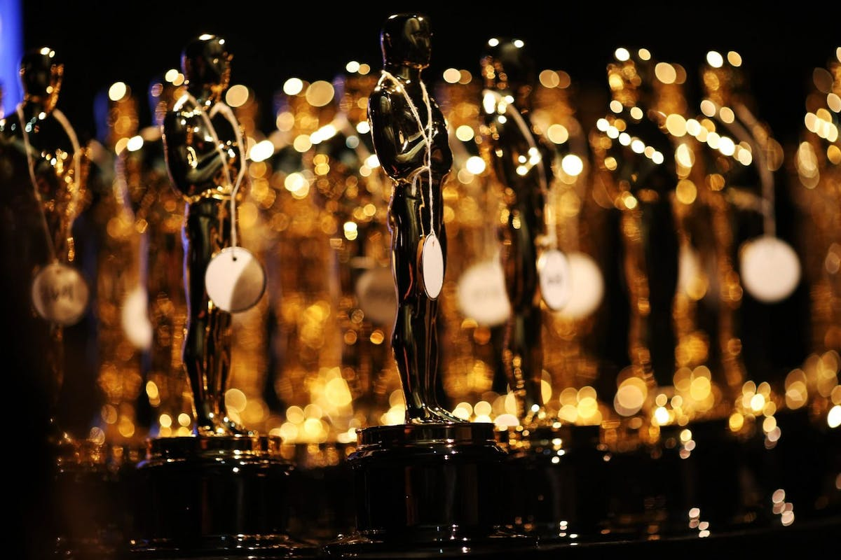 HOLLYWOOD, CA - FEBRUARY 24: General view of the Oscar statues backstage during the Oscars held at the Dolby Theatre on February 24, 2013 in Hollywood, California. (Photo by Christopher Polk/Getty Images)