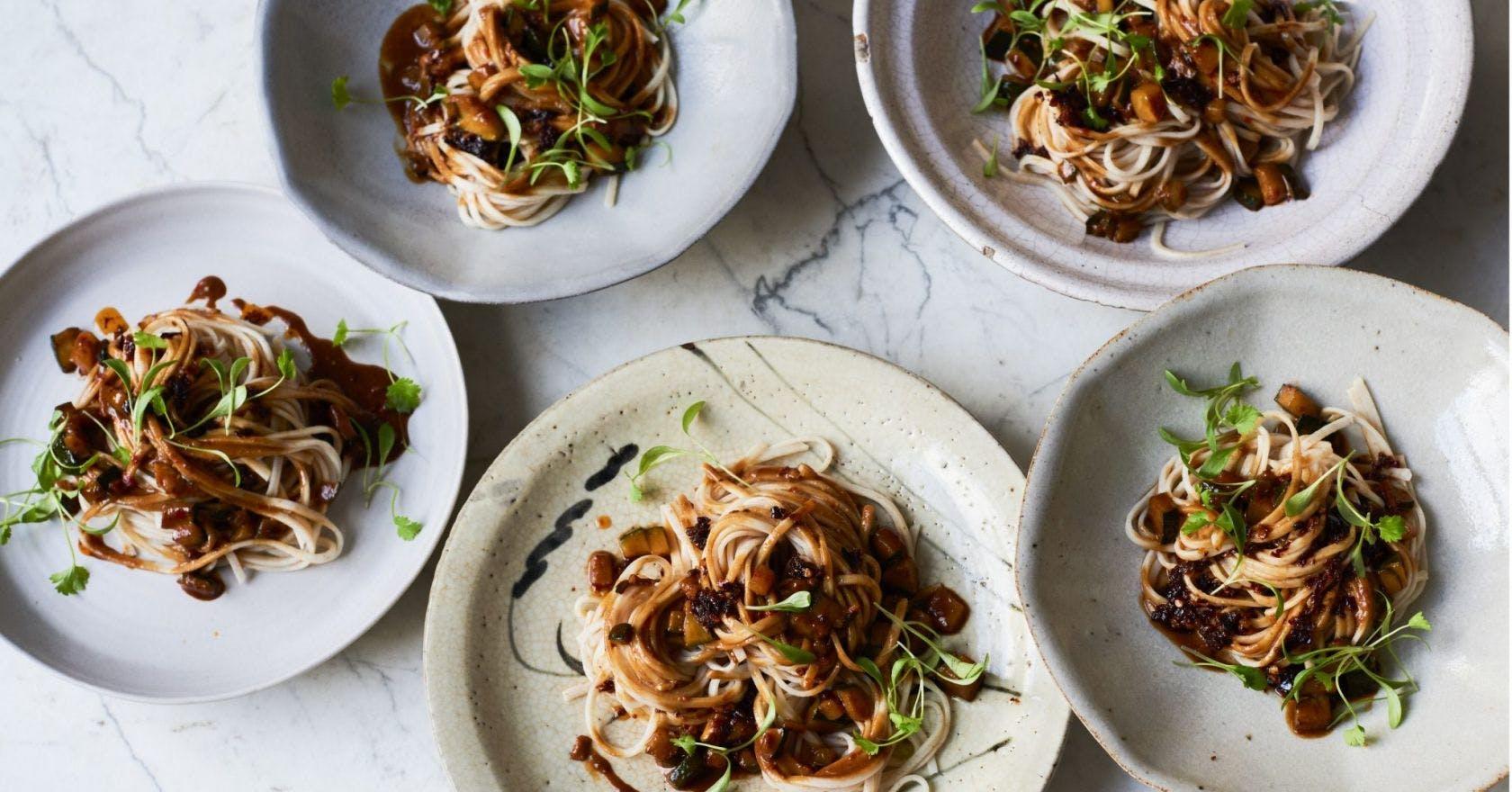 Healthy Vegan Recipes Spicy Sichuan Dan Dan Noodles Best Chinese Recipes