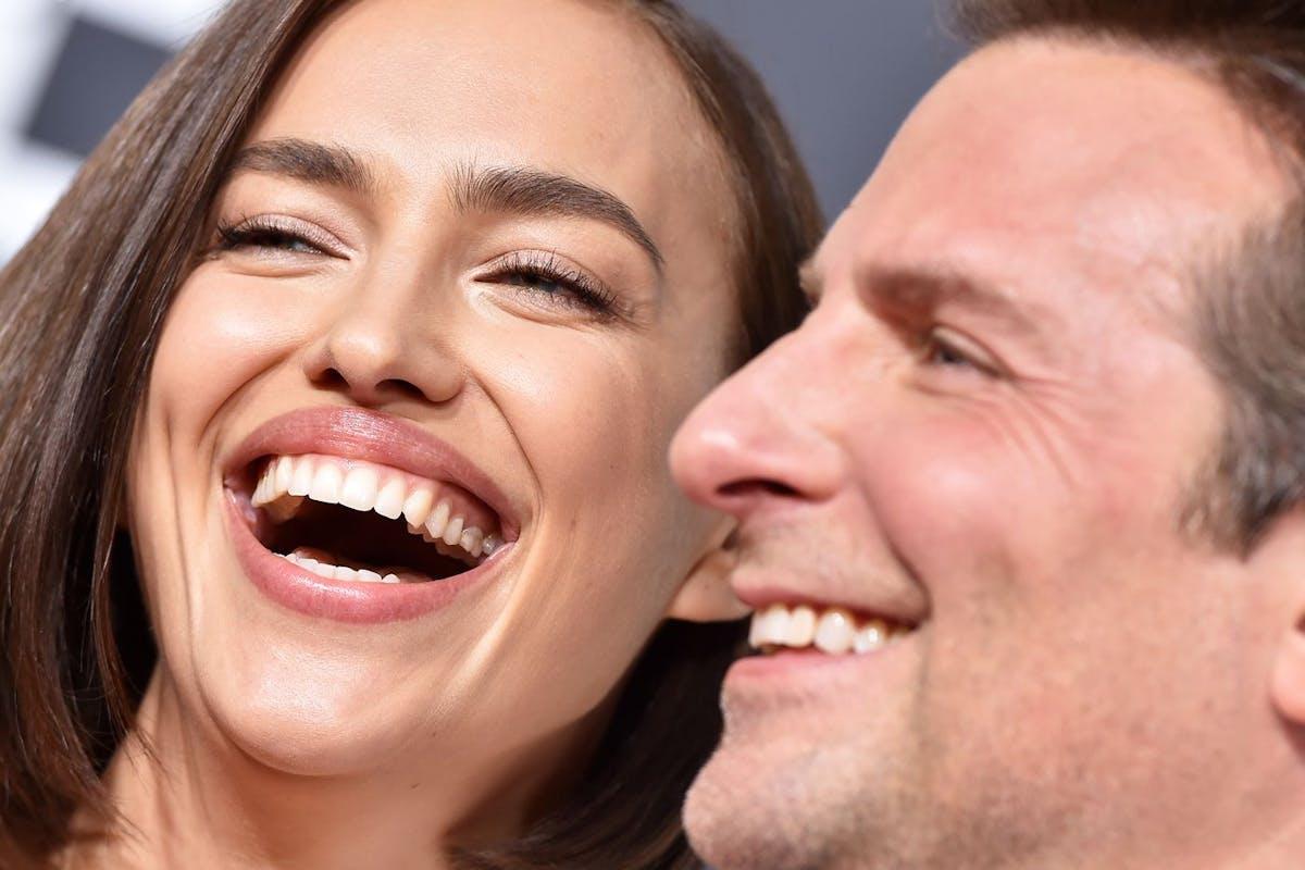 Irina Shayk and Bradley Cooper at the 2019 Oscars