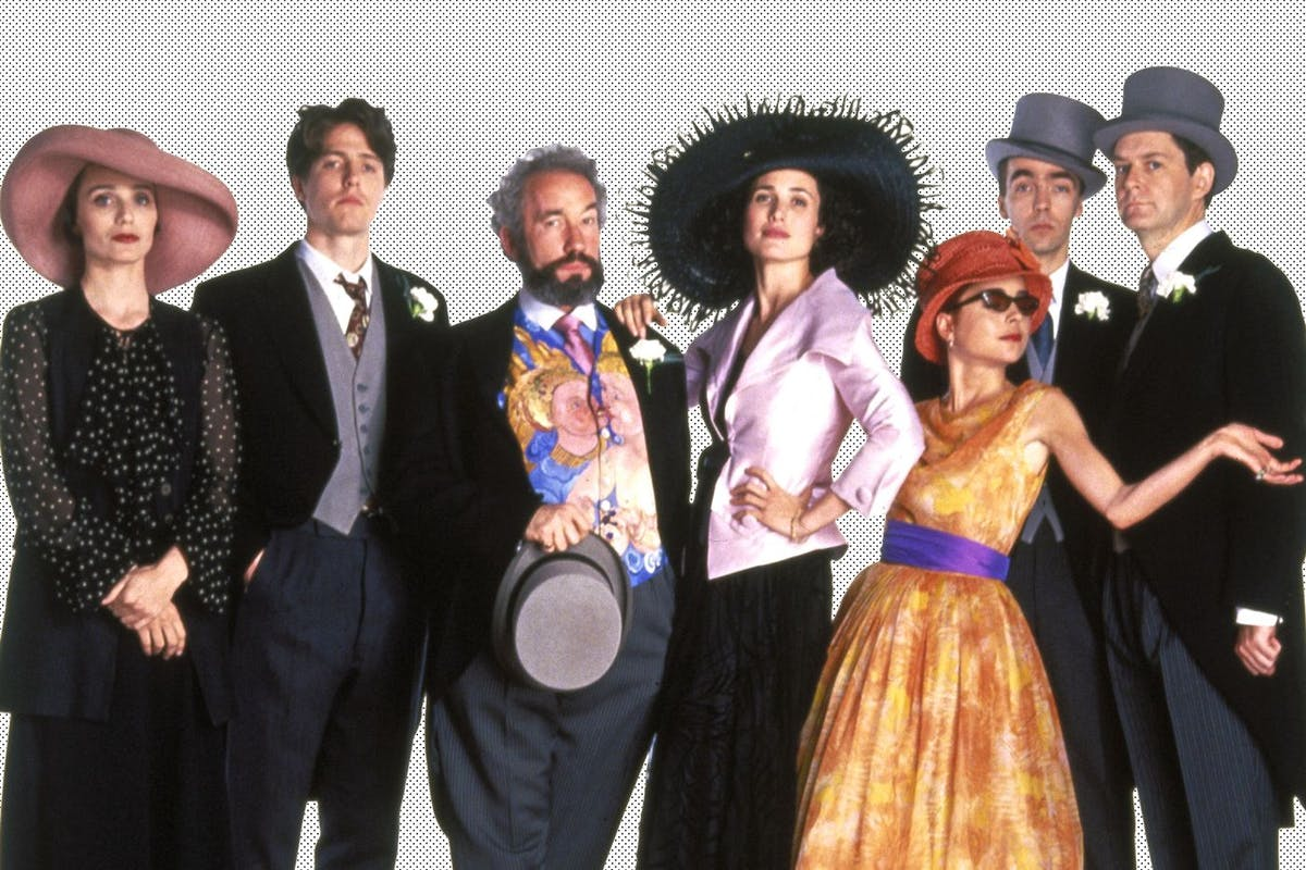 Four Weddings and a Funeral. Image: Rex Features