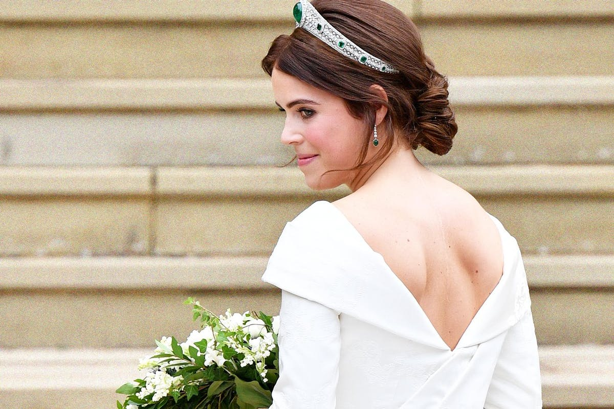 Princess Eugenie's royal wedding dress