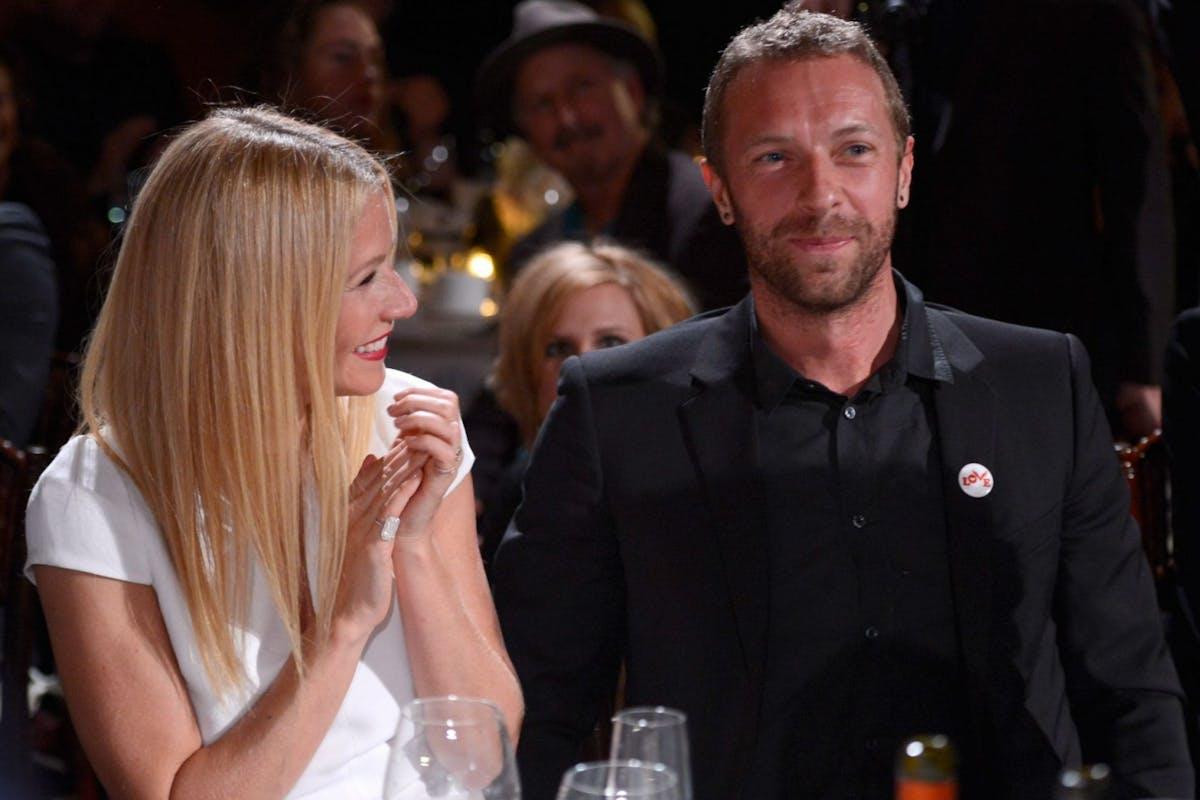 Gwyneth Paltrow and her ex husband Chris Martin