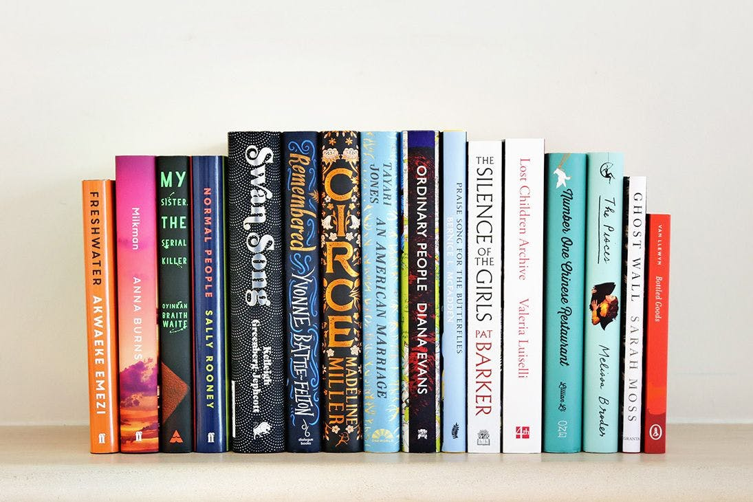 Women's Prize for Fiction Longlist 2019, photographed by Sam Holden Agency