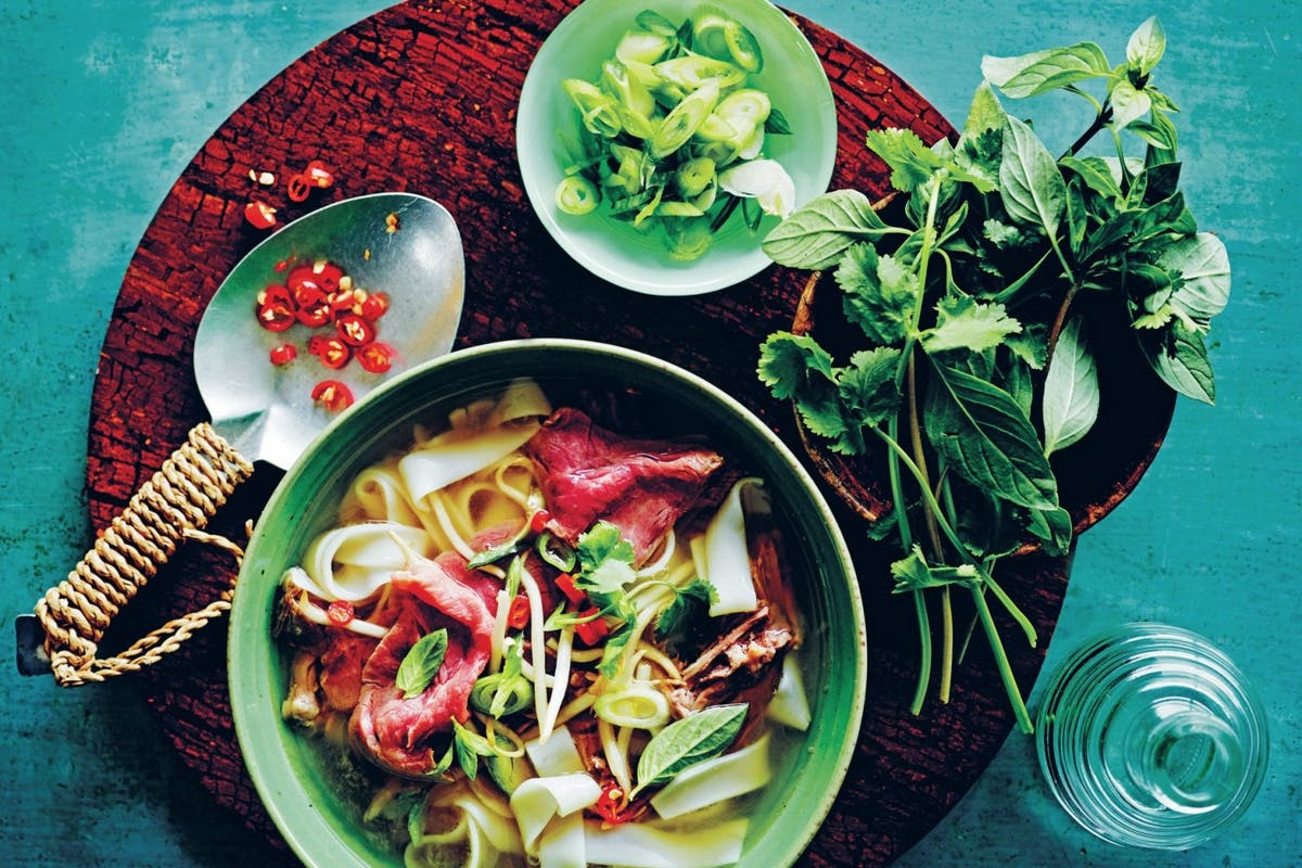 Easy dinner ideas: Traditional beef pho recipe