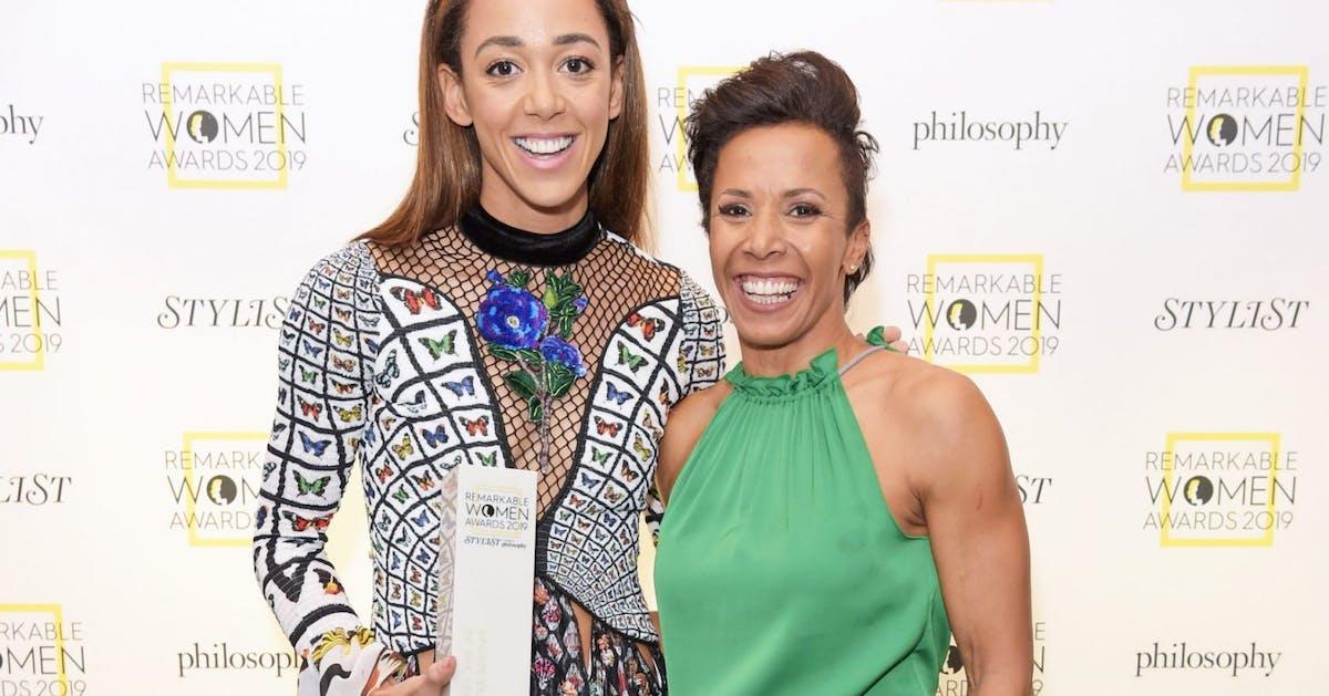 "Katarina Johnson-Thompson pays tribute to ""inspirational"" Dame Kelly Holmes"