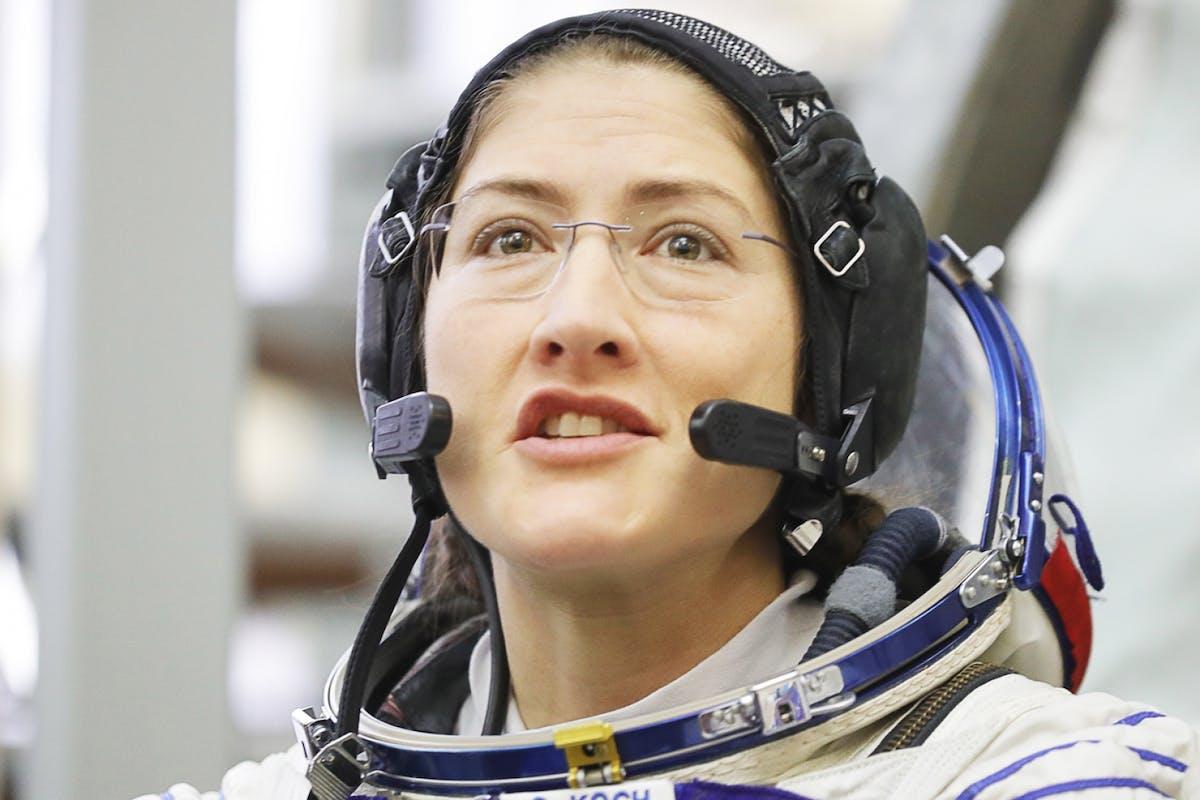 Christina Koch: astronaut