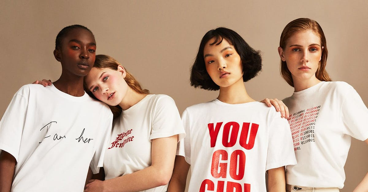 14 stylish feminist fashion pieces that actually benefit the women's movement