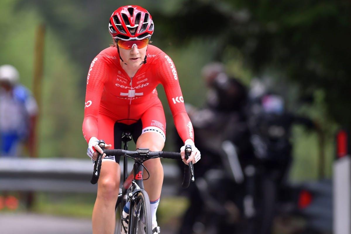 Elite cyclist Nicole Hanselmann of Switzerland