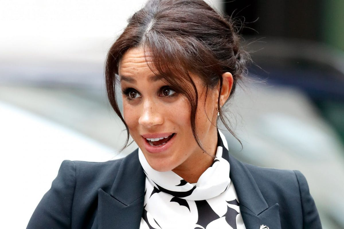 Meghan Markle, the Duchess of Sussex, arriving at an International Women's Day panel event in London