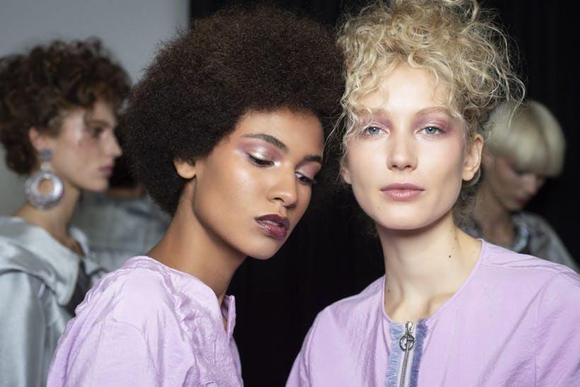 armani ss19 pink makeup