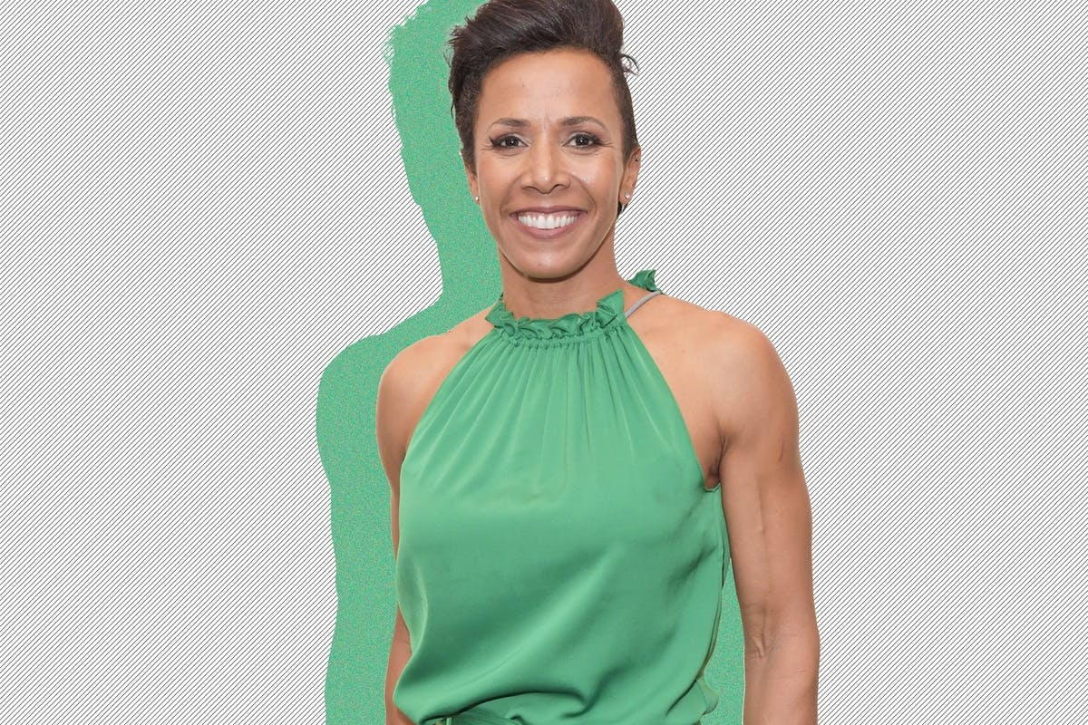 Double Olympic gold medallist Dame Kelly Holmes