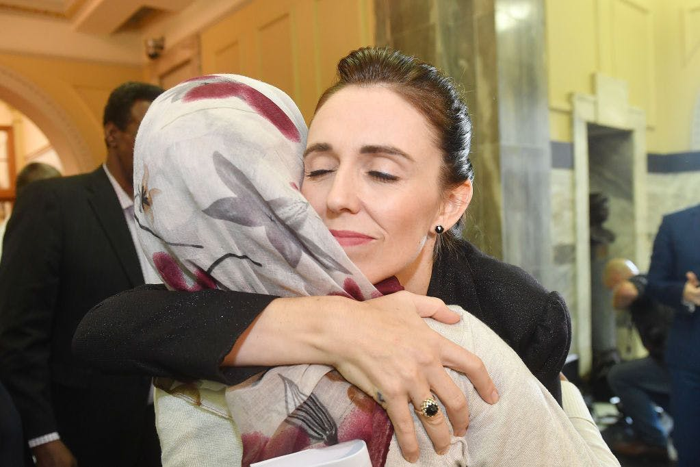 Jacinda Ardern visits survivors of Christchurch shooting