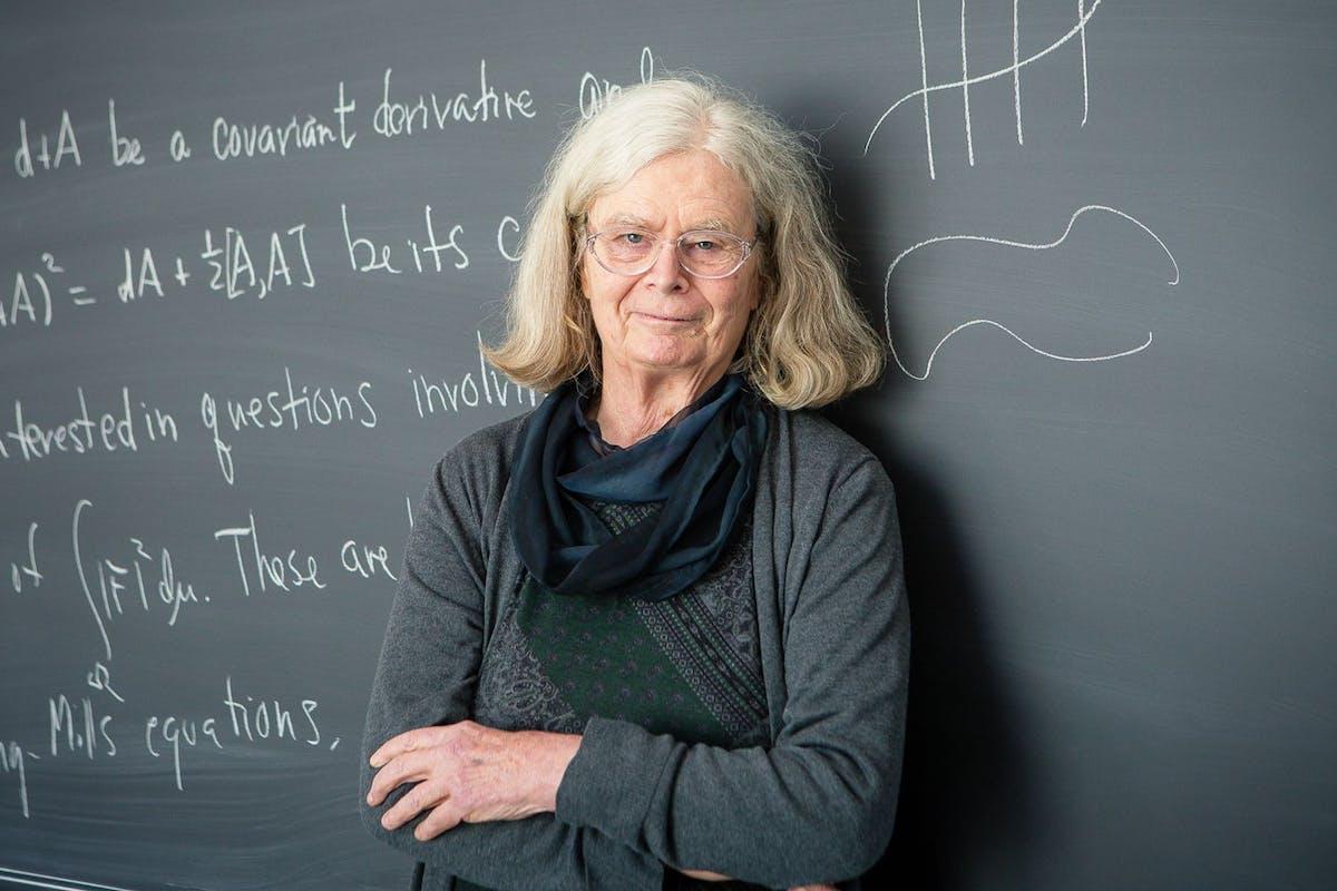 Karen Uhlenbeck. Image: Andrea Kane/Institute for Advanced Study