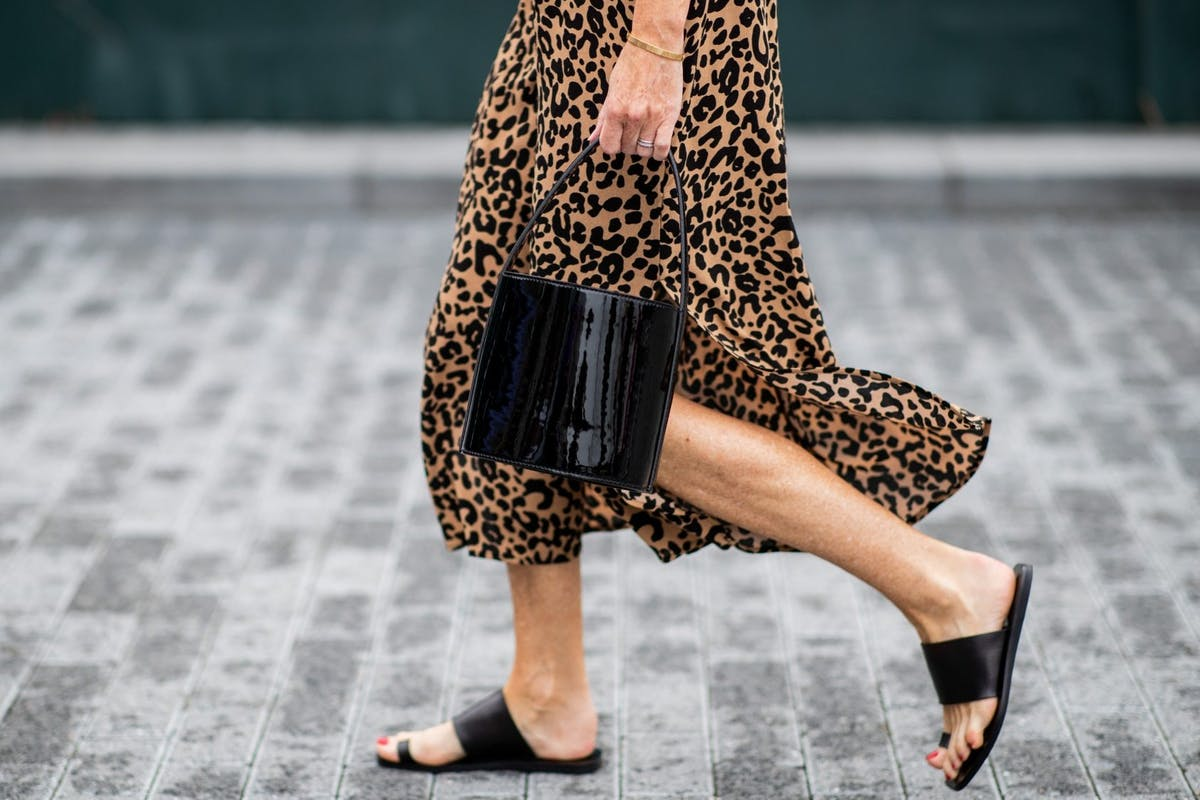 Image of leopard print street style