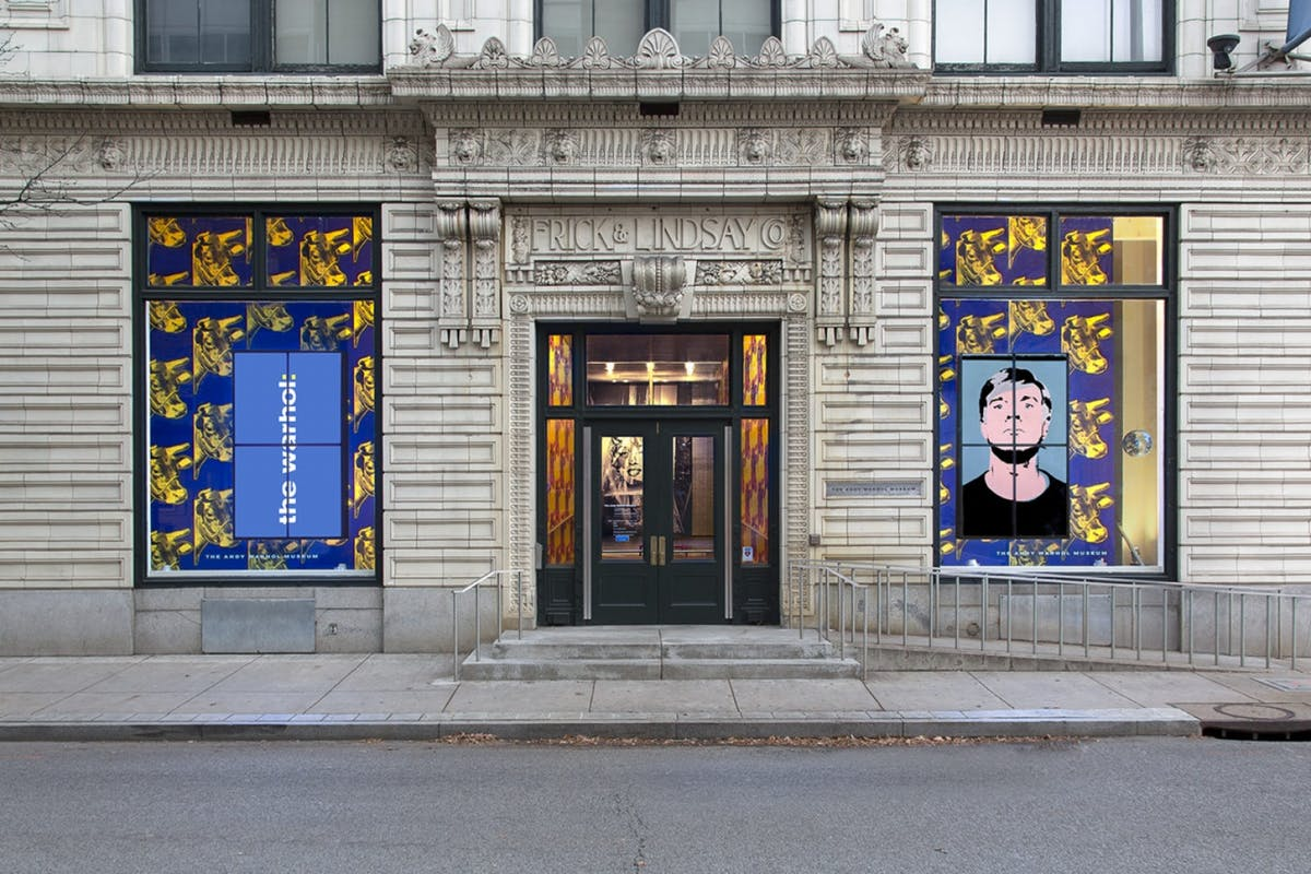 the andy warhol museum pittsburgh entrance photo