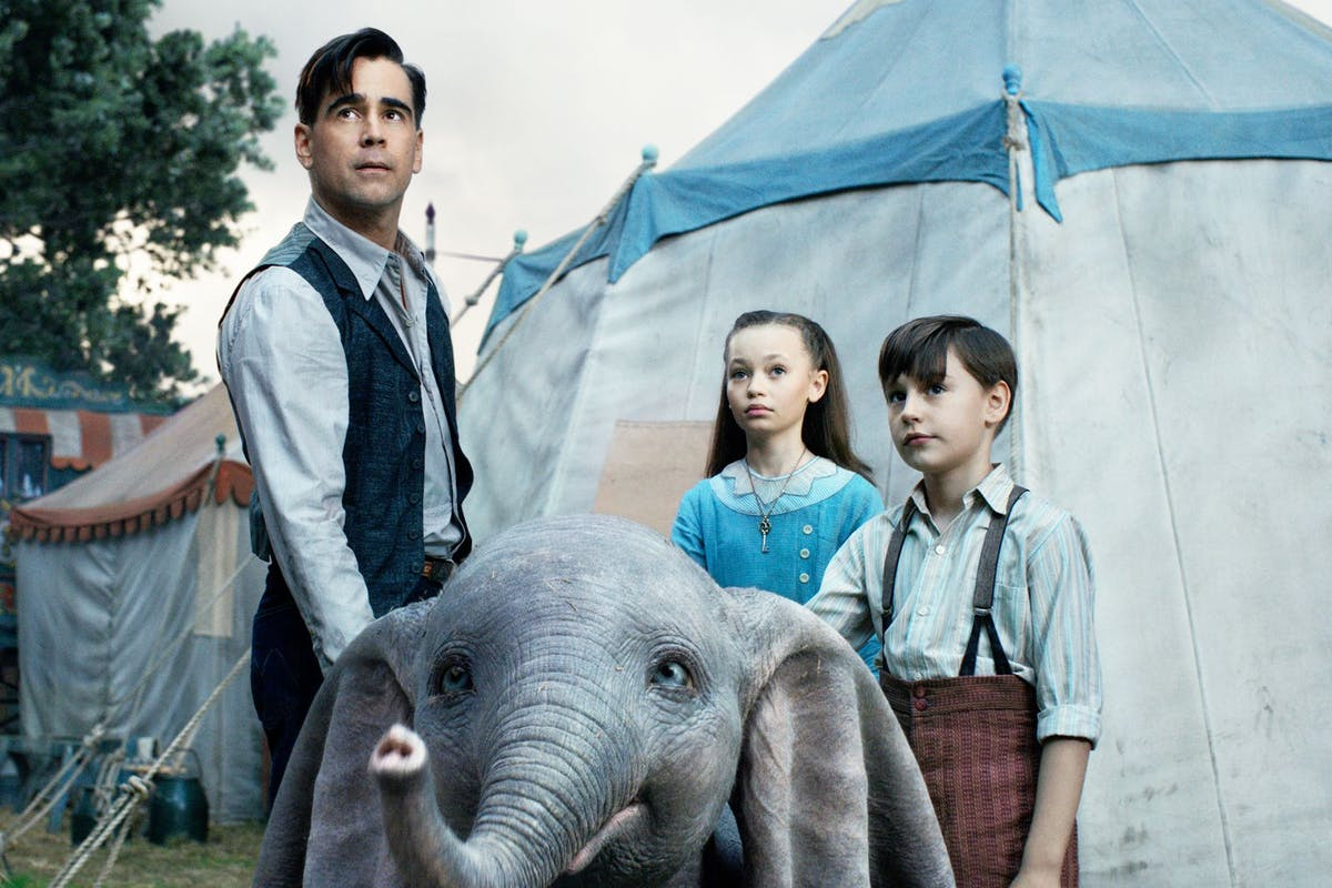Dumbo - Disney, Tim Burton
