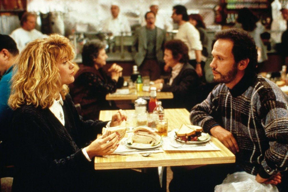 The diner scene in When Harry Met Sally