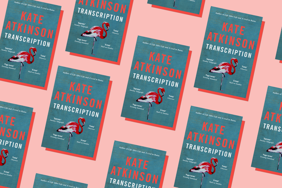 Transcription kate atkinson book cover