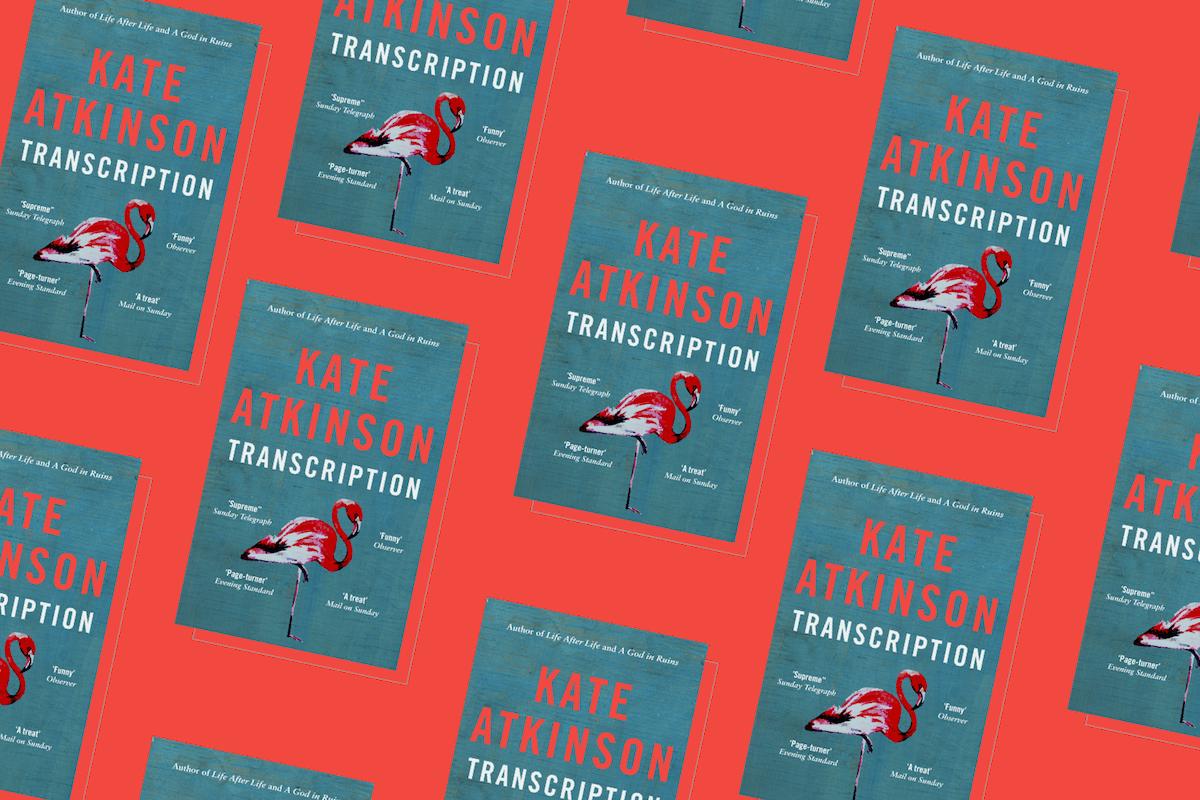 Transcription kate atkinson book cover