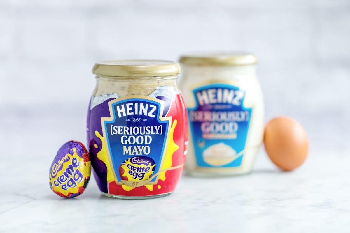 Cadbury creme egg mayonaise