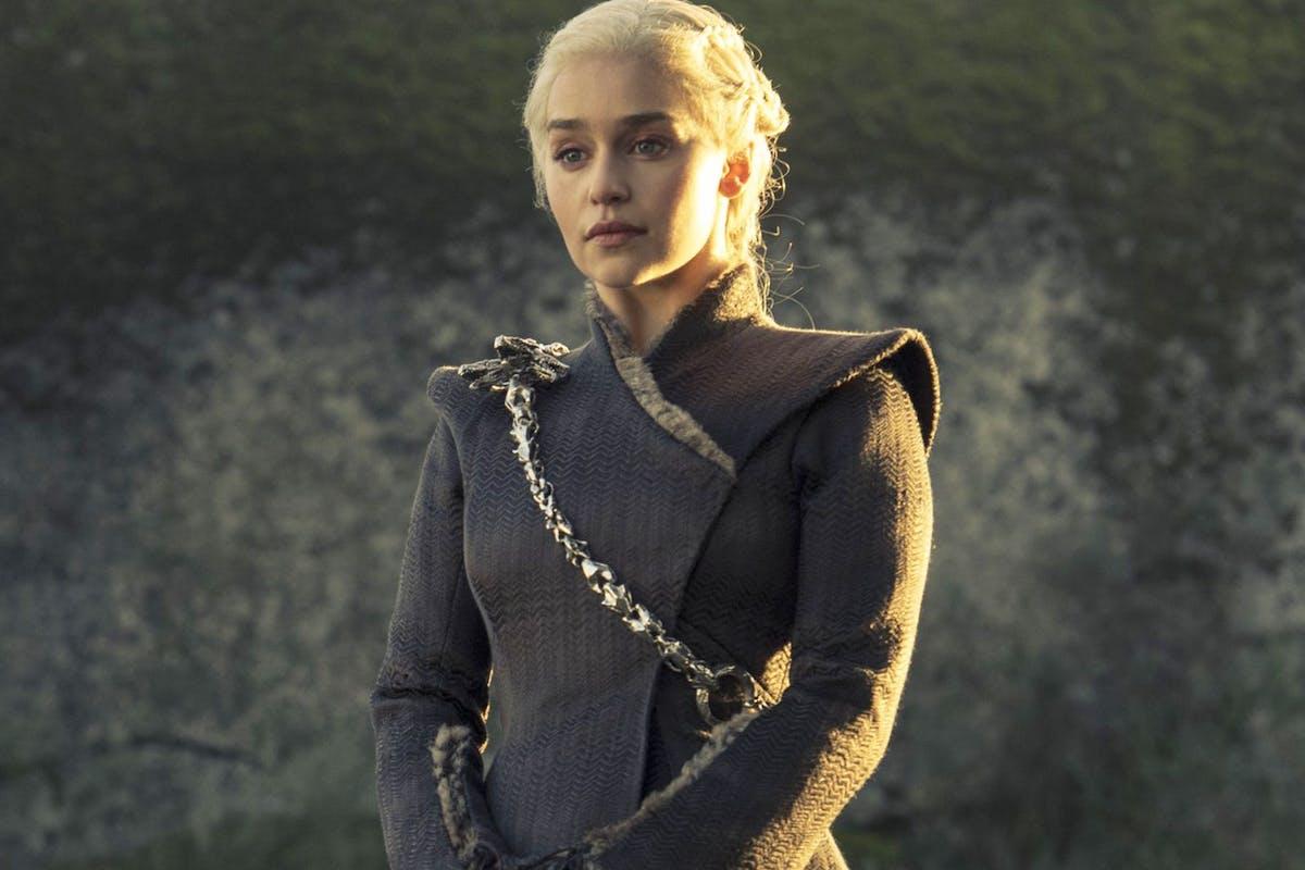 Daenerys 'Mother of Dragons' Targaryen (Emilia Clarke in HBO's Game of Thrones)