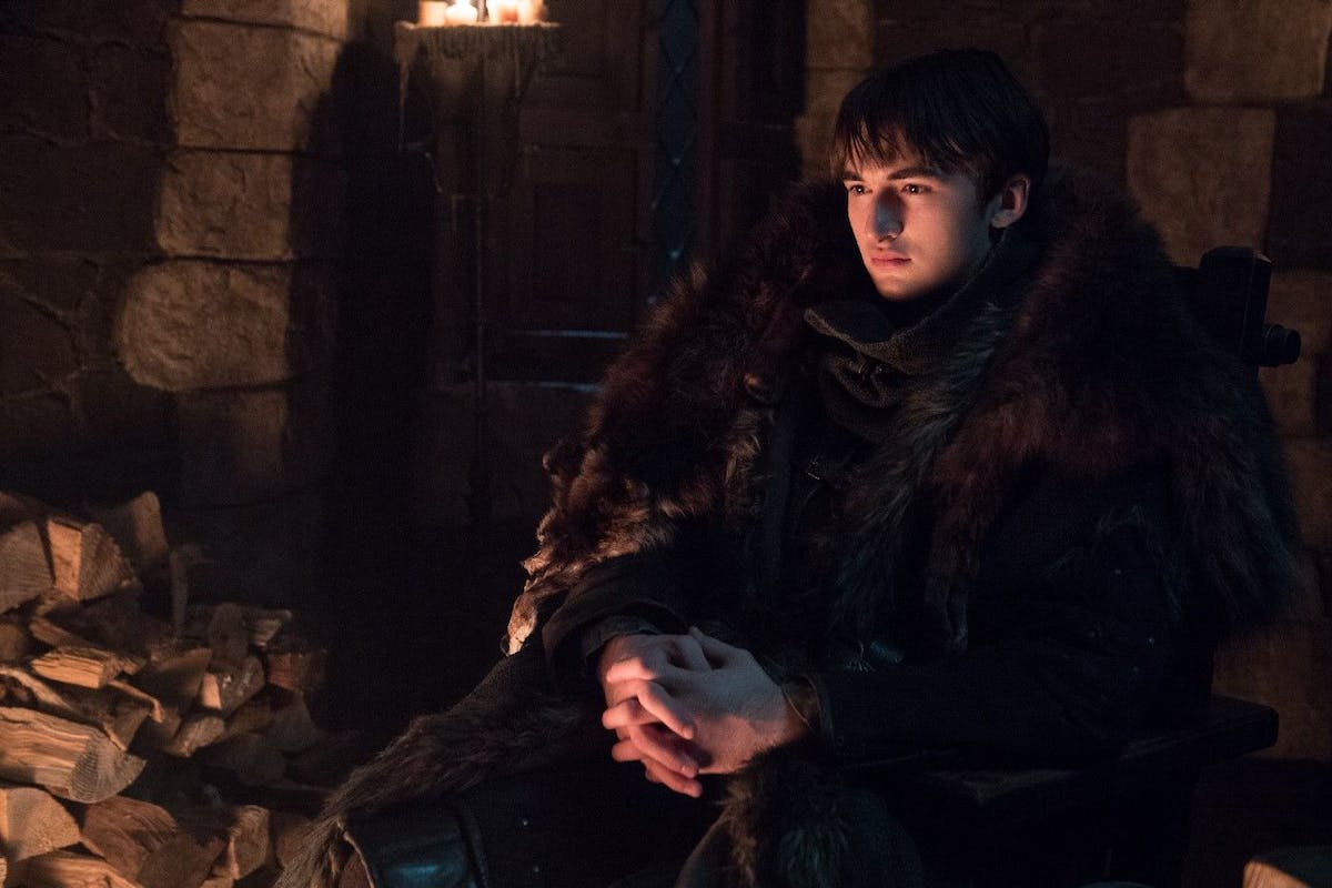 Isaac Hempstead-Wright as Bran Stark in HBO's Game of Thrones